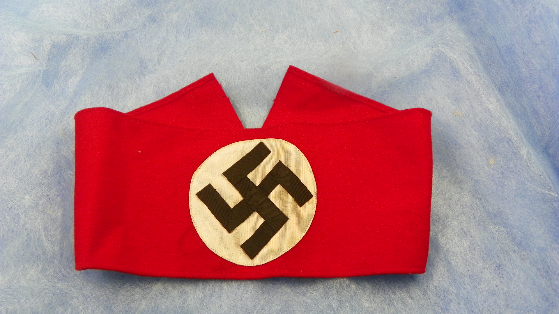 Weinand militaria nazi party armband 21 inches long with multi piece construction as nice as you will find and has blue ink sa rzm tag inside and no mothing biocorpaavc Image collections